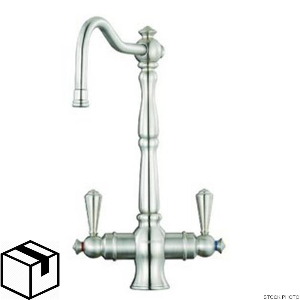 Polished Stainless Steel Everpure EV900620 Helia Victorian Faucet